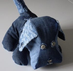 denim dog complete