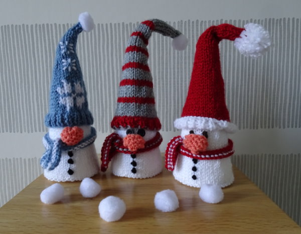 Snowmen Display
