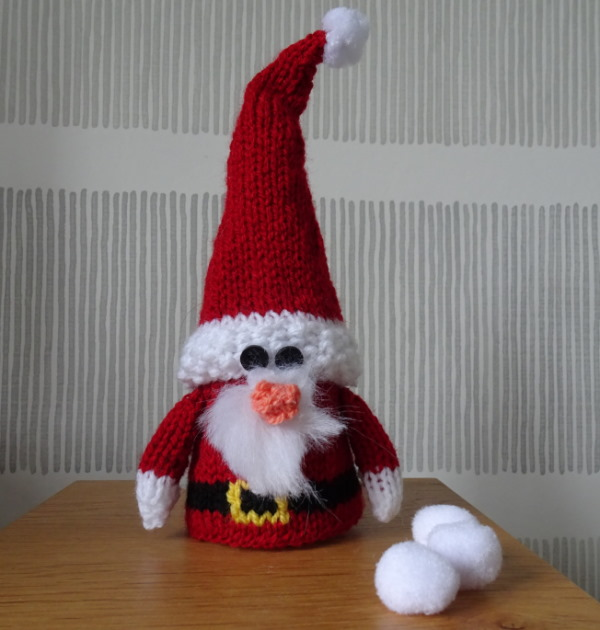 Knitting Pattern for Santa
